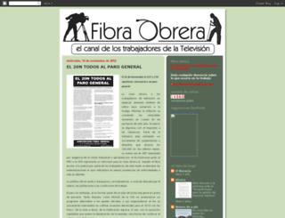 fibraobrera.blogspot.com screenshot