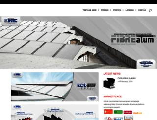 fibrealum.com screenshot