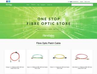 fibresales.com.au screenshot
