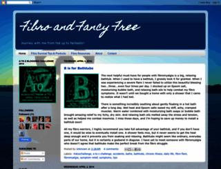 fibroandfancyfree.blogspot.com screenshot