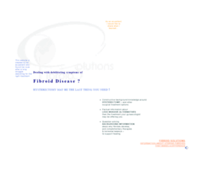 fibroidsolutions.com screenshot
