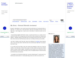 fibroidssymptoms.blogspot.com screenshot