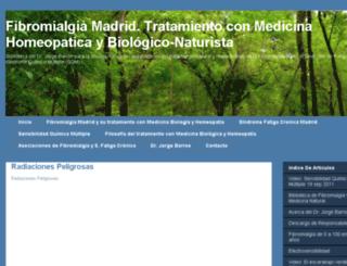 fibromialgiamadrid.net screenshot