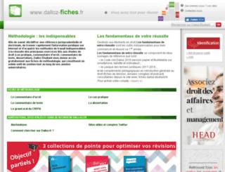 fiches.dalloz-etudiant.fr screenshot