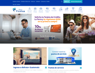 ficohsa.com.gt screenshot