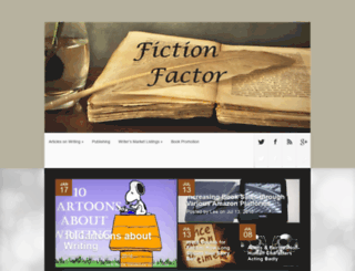 fictionfactor.com screenshot