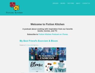 fictionkitchenpodcast.com screenshot