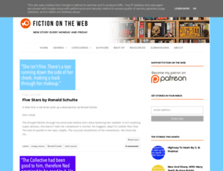 fictionontheweb.co.uk screenshot