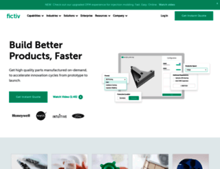 fictiv.com screenshot