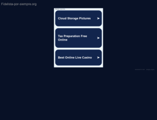 fidelista-por-siempre.org screenshot
