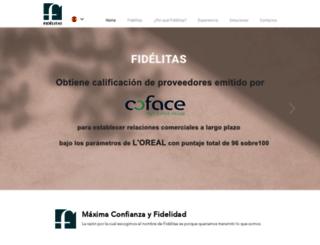fidelitascredit.com screenshot