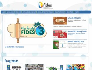 fides.org.co screenshot