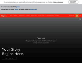fidm.com screenshot