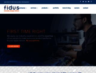 fidus.com screenshot
