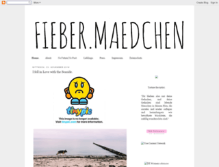 fiebermaedchen.blogspot.de screenshot