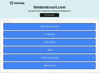fieldandcourt.com screenshot