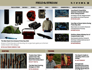 fieldandstream.com screenshot