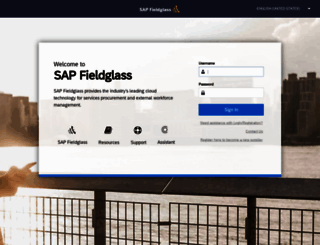 fieldglass.net screenshot