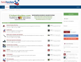 fieldhockeyforum.com screenshot