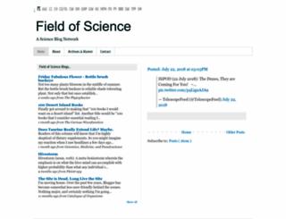 fieldofscience.com screenshot