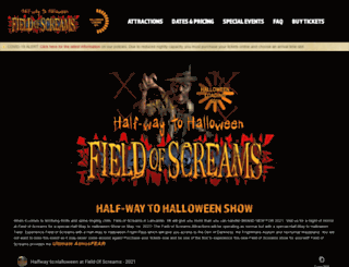 fieldofscreams.com screenshot