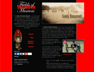 fieldsofthunder.com screenshot