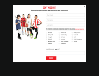 fieldsports.org screenshot