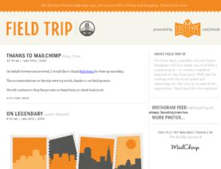 fieldtripsf.com screenshot