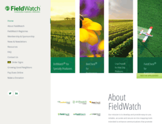 fieldwatch.com screenshot