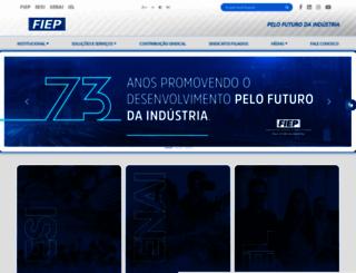 fiepb.com.br screenshot