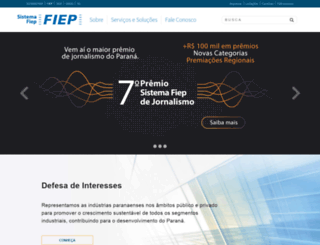 fiepr.org.br screenshot