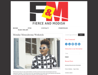 fierceandmodish.com screenshot