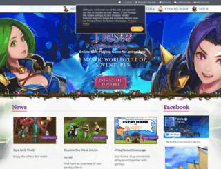 fiesta-online.gamigo.com screenshot