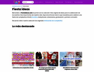 fiestaideas.com screenshot