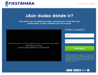 fiestamara.myinstapage.com screenshot