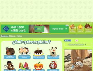 fiestas.minidibujos.com screenshot