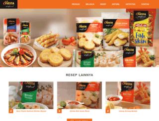 fiestaseafood.com screenshot