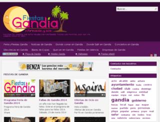 fiestasgandia.com screenshot