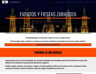 fiestaszaragoza.com screenshot
