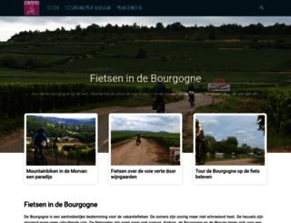 fietsen-bourgogne-frankrijk.nl screenshot
