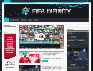 fifa-infinity.com screenshot