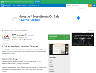 fifa-manager-14.en.softonic.com screenshot