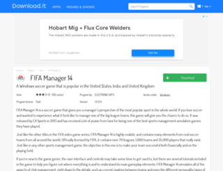 fifa-manager-14.jaleco.com screenshot