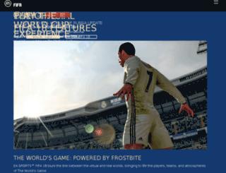 fifa-online.easports.com screenshot