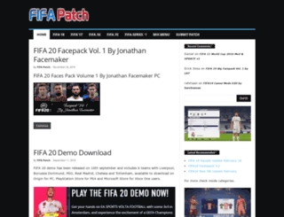 fifa-patch.com screenshot