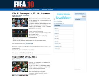 fifa10-patch.blogspot.com screenshot