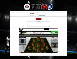 fifa14.epickeys.com screenshot
