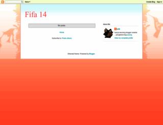 fifa14generateur.blogspot.com screenshot