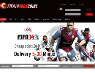 fifa14xboxcoins.com screenshot