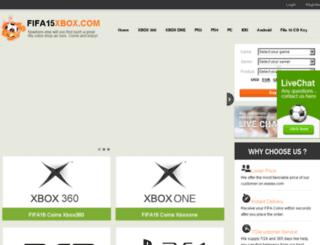 fifa15xbox.com screenshot